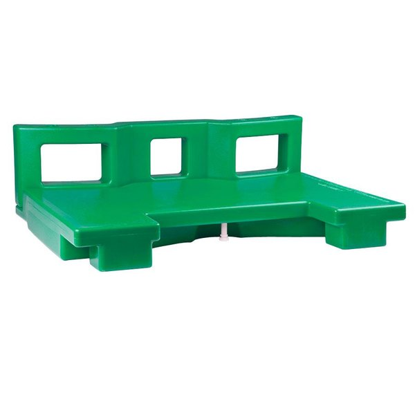 Cambro VCSCNL519 Green Connector for Connecting Versa Carts to Low Height Versa Food Bars / Work Tables