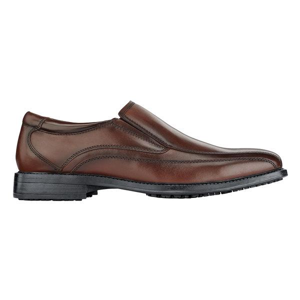 Dockers 57228 Director Men's Brown Water-Resistant Soft Toe Non-Slip Dress Shoe