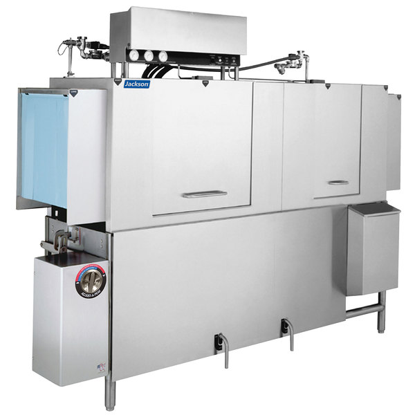Jackson AJX-80 Vision Conveyor Low Temperature Dishwasher - Left to Right, 208V, 3 Phase