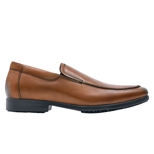 Shoes For Crews 1217 Venice Men's Water-Resistant Soft Toe Non-Slip Dress Shoe