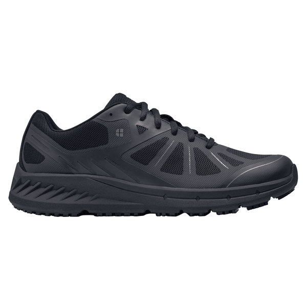 Shoes For Crews 22782 Endurance II Men's Black Water-Resistant Soft Toe Non-Slip Athletic Shoe Main Image 1