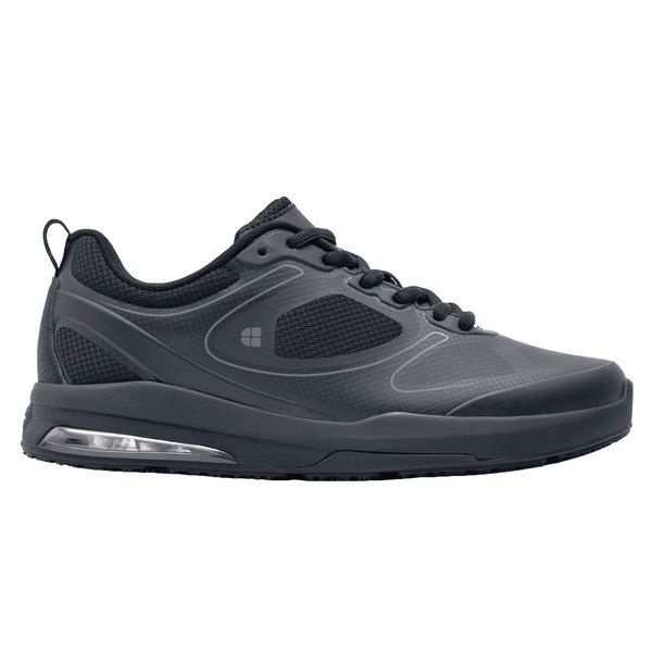 Shoes For Crews 29167 Revolution Ii Womens Black Water Resistant Soft Toe Non Slip Athletic Shoe