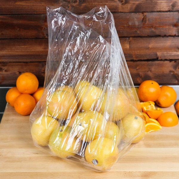 """Elkay Plastics 10G-111021 Plastic Food Bag 11 1/2"""" x 10"""" x 21 1/2"""" - 1000/Box"""