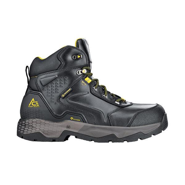 ACE 79955 Pitch Men's Black Waterproof Aluminum Toe Non-Slip Work Boot