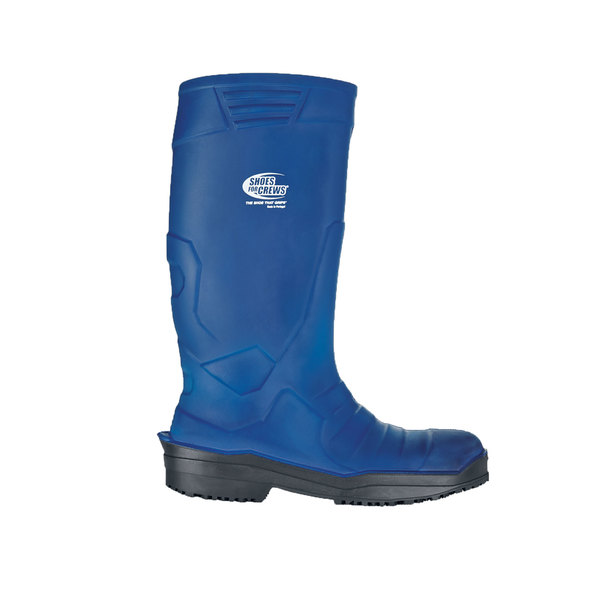 Shoes For Crews 2015 Sentinel Unisex Blue Waterproof Steel Toe Non-Slip Work Boot
