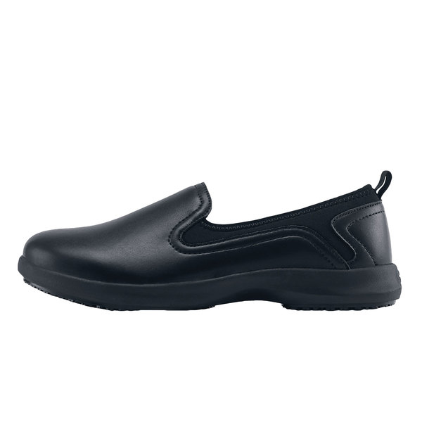 45091f1a575 Shoes For Crews 35365 Quincy Women s Black Water-Resistant Soft Toe Non-Slip  Casual. Main Picture. Image Preview