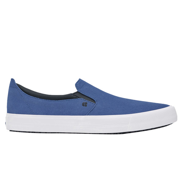 Shoes For Crews 33034 Ollie II Men's Blue Water-Resistant Soft Toe Non-Slip Casual Shoe