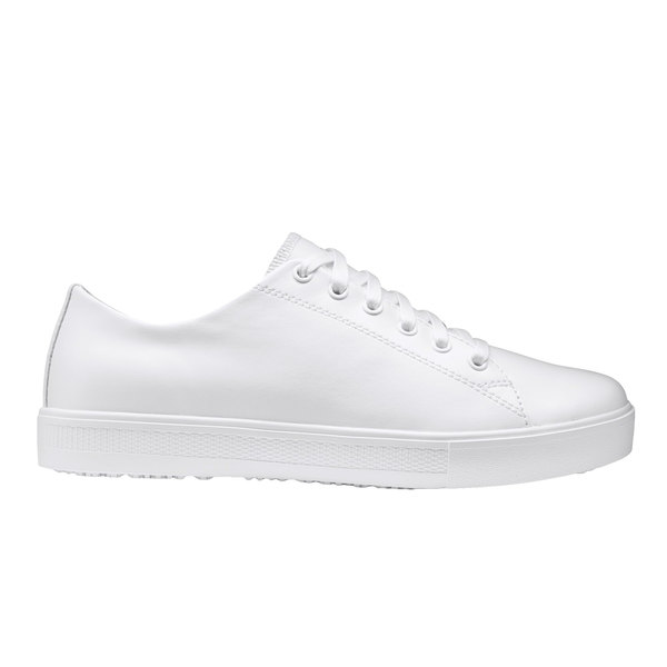 686ab8640b5 Shoes For Crews 36320 Old School Low-Rider IV Women s White Water-Resistant  Soft Toe Non-Slip Casual Shoe