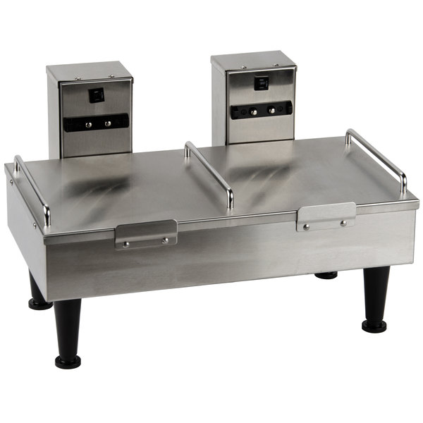Bunn 27875.0000 Soft Heat Stainless Steel Dual Server Docking Station - 120V