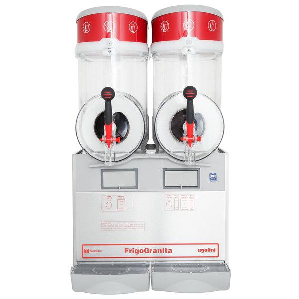 Cecilware FrigoGranita GIANT2 Double 4 Gallon Pourover Slush Machine - 120V