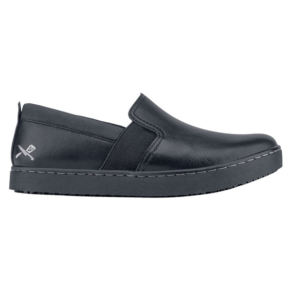 a09bed2ed055 MOZO M33085 Kai Women s Black Water-Resistant Soft Toe Non-Slip Casual  Shoe. Main Picture