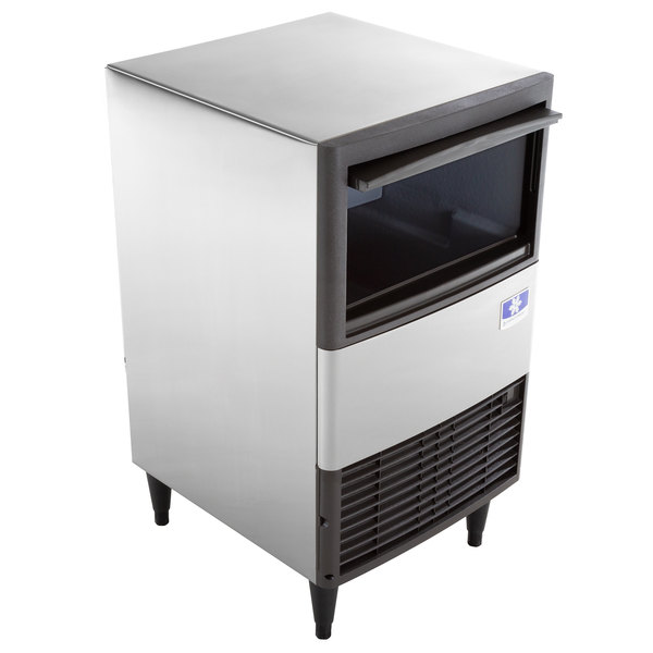 """Manitowoc QM-30A 19 3/4"""" Air Cooled Undercounter Full Size Cube Ice Machine with 30 lb. Bin - 60 lb."""