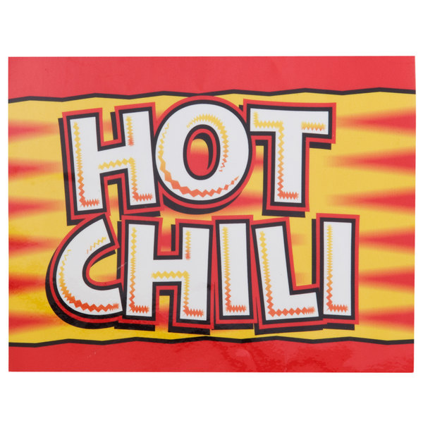 APW Wyott 21770200 Hot Dog Chili Topping Transparency for LW-4PKG Heated Countertop Warmer Main Image 1