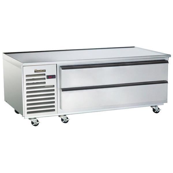 "Traulsen TE060LT 2 Drawer 60"" Freezer Chef Base"