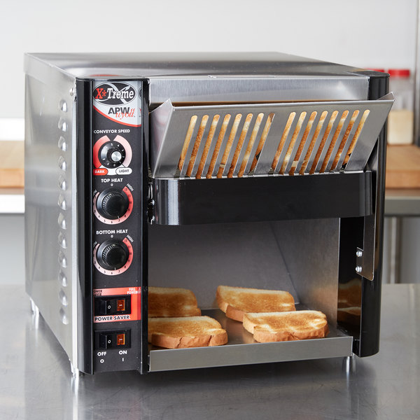 "APW Wyott XTRM-2 10"" Wide Conveyor Toaster with 1 1/2"" Opening - 230V Main Image 10"