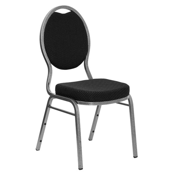 Super Flash Furniture Fd C04 Silvervein S076 Gg Hercules Black Pattern Fabric Teardrop Back Stackable Banquet Chair With Silver Vein Frame Creativecarmelina Interior Chair Design Creativecarmelinacom