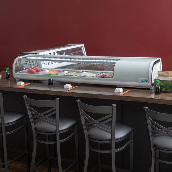 "Avantco RSD-71-HC 71"" Countertop Refrigerated Sushi Display Case"