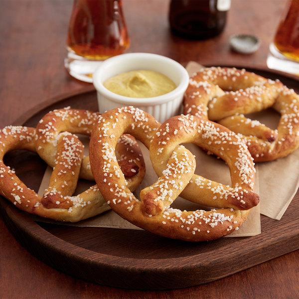 Dutch Country Foods 3 oz. Gluten Free Soft Pretzels - 60/Case Main Image 2