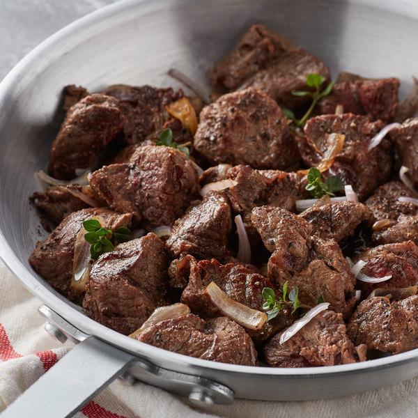 5 Ib. Frozen Beef Tenderloin Tips - 2/Case