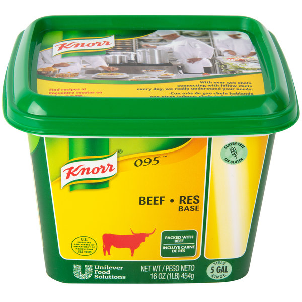 Knorr Beef Base 1 Lb Container