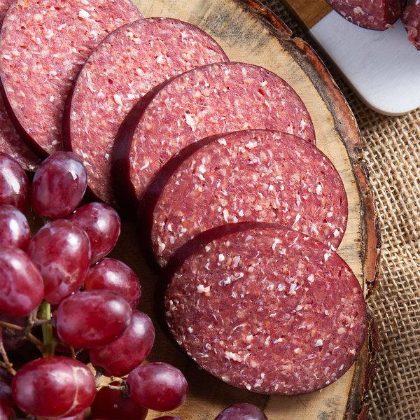 Seltzer's Lebanon Bologna Original Bologna 14 oz. Chub - 12/Case Main Image 2