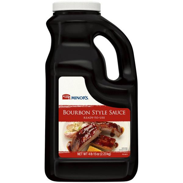 Minor's 1/2 Gallon Southern-Style Bourbon Sauce - 4/Case