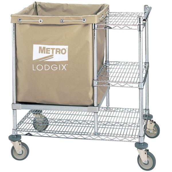 "Metro LXHR-PRO Lodgix Houserunner Pro Cart 36"" x 24"" x 39"""