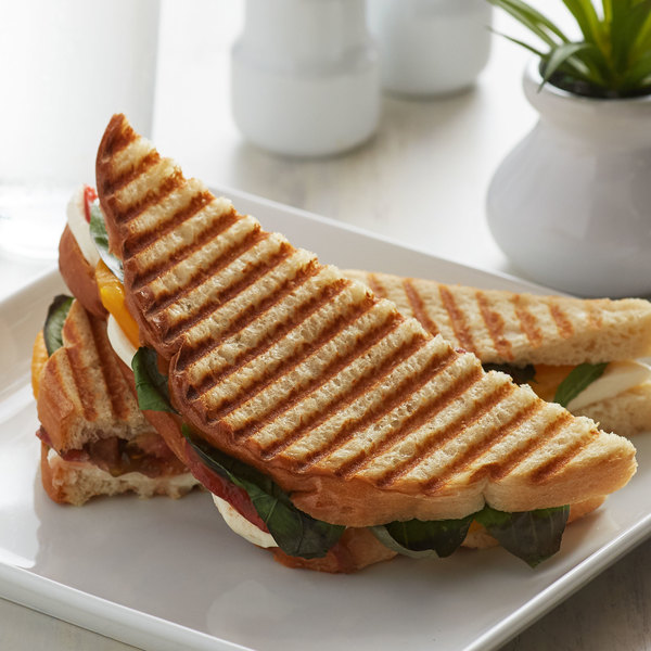 Wholesome Harvest White Panini Bread Loaf - 10/Case Main Image 2