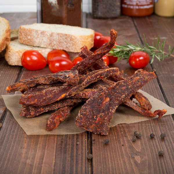 Uncle Mike's Spicy Hot Beef Jerky 2 lb. Bag Main Image 6
