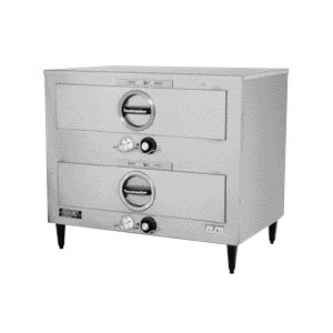 Toastmaster 3B84DT09 29 inch Free-Standing 2 Drawer Warmer with Individual Thermostats - 120V, 900W