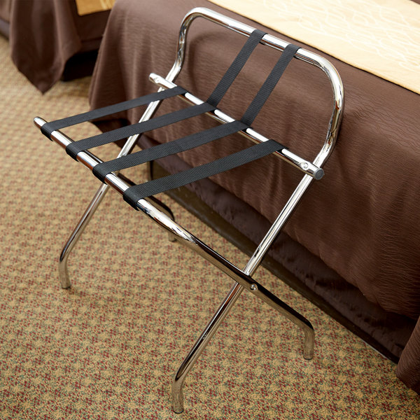 Brilliant Lancaster Table Seating Chrome Folding Luggage Rack With Guard Evergreenethics Interior Chair Design Evergreenethicsorg