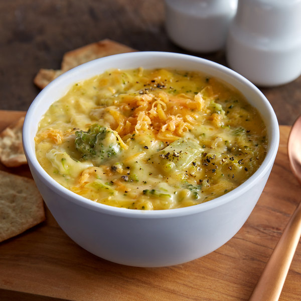 Fisher's Homestyle Salads 10 lb. Broccoli and Cheese Soup