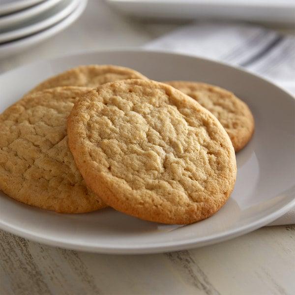 David's Cookies 3 oz. Preformed Sugar Cookie Dough - 107/Case Main Image 2