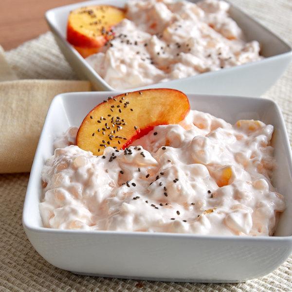 Fisher's Homestyle Salads 8 lb. Peach Tapioca Pudding
