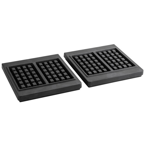 Carnival King PWBSGRID Brussels Style Waffle Iron Grid for WBS46 - 2/Set Main Image 1