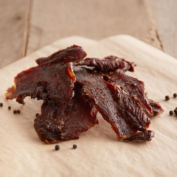 Hillside Turkey Farms 10 lb. Turkey Jerky with Black Pepper