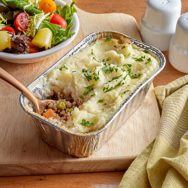 Fisher's Homestyle Salads 1 lb. Beef Shepherd's Pie - 6/Case Main Image 1
