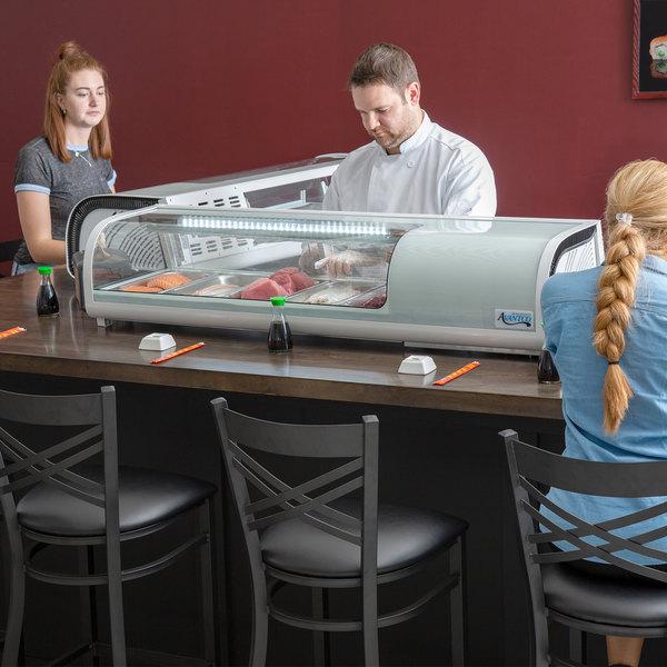 "Avantco RSD-53-HC 53"" Countertop Refrigerated Sushi Display Case"