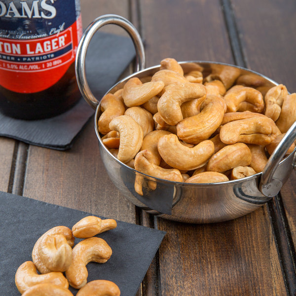 15 lb. Whole Roasted Unsalted Cashews