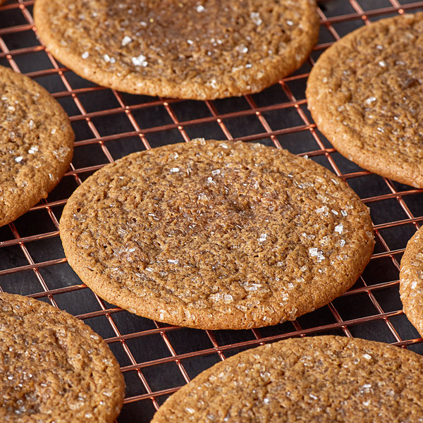 David's Cookies 1.5 oz. Ginger Molasses Cookie Dough - 216/Case Main Image 2