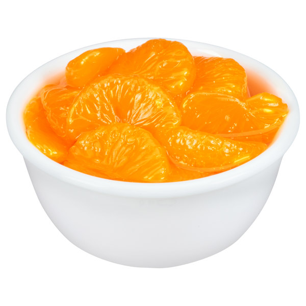Dole 11 oz. Can Mandarin Oranges in Light Syrup - 12/Case Main Image 3