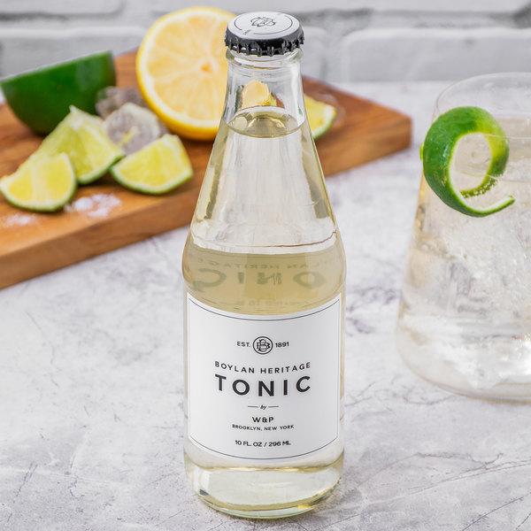 Boylan Bottling Co. 10 oz. Heritage Tonic Soda 4-Pack - 6/Case Main Image 4