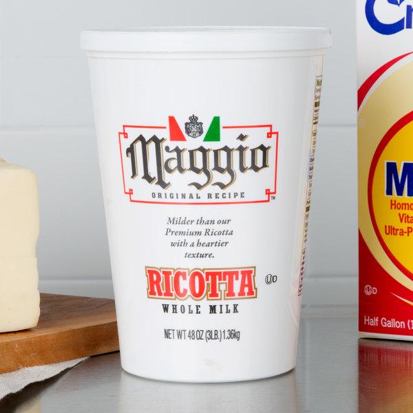 Maggio Original Recipe 3 lb. Original Whole Milk Ricotta Cheese
