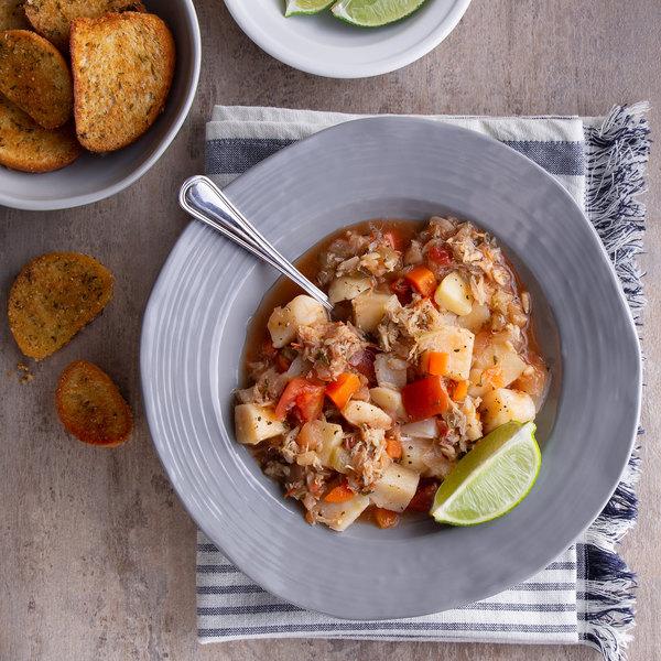 Spring Glen Fresh Foods 5 lb. Maryland Crab Soup - 2/Case