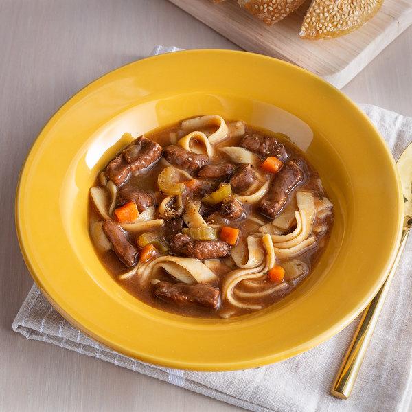 Spring Glen Fresh Foods 5 lb. Beef Noodle Soup - 2/Case Main Image 2