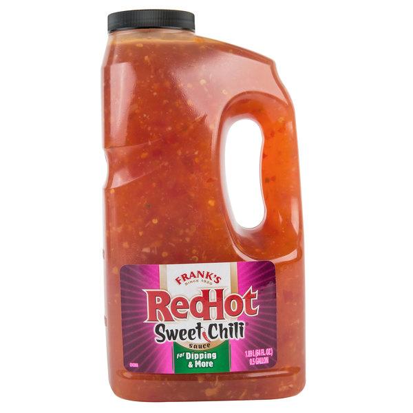 Frank S Redhot Sweet Chili Sauce Half Gallon