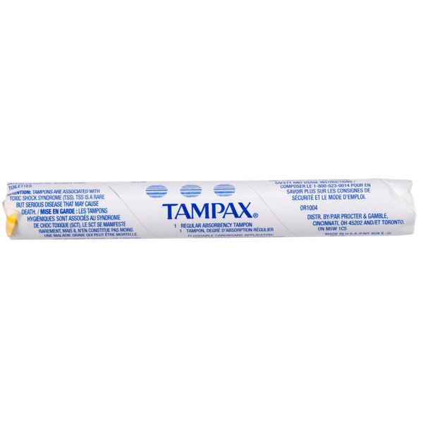 Procter & Gamble T500 Tampax Tampon - 500/Case