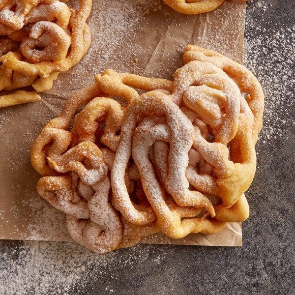 """J & J Snack Foods 5"""" Funnel Cake - 48/Case Main Image 3"""