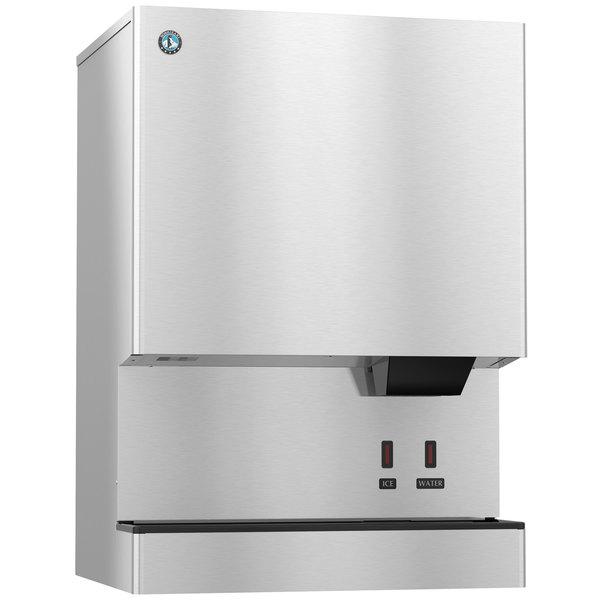 Hoshizaki DCM-751BWH-OS Opti-Serve Countertop Ice Maker and Water Dispenser - 70 lb. Storage Water Cooled Main Image 1