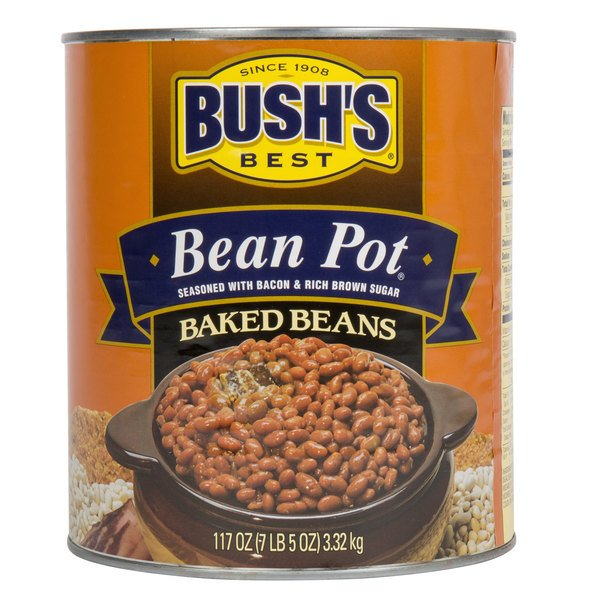 Bush S Best Bean Pot Baked Beans With Bacon 10 6 Case
